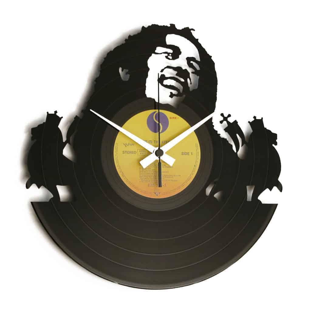 BOB orologio con disco in vinile