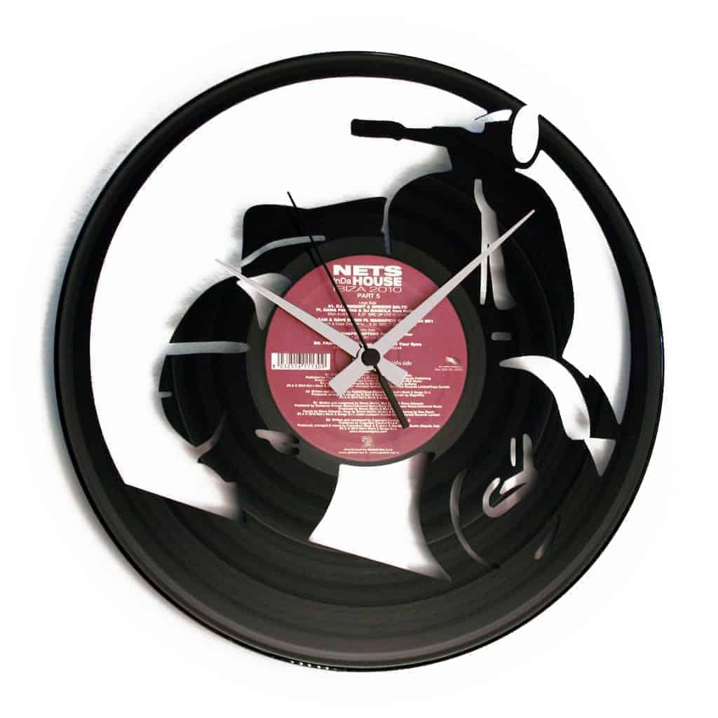 VESPA orologio con disco in vinile