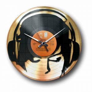 dj Golden record wall clock