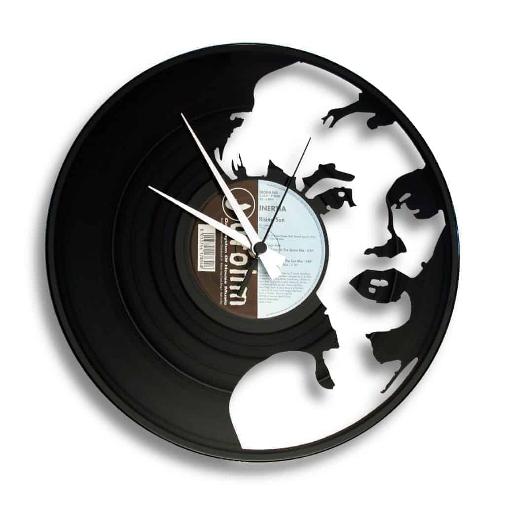 THE GODDESS OF LOVE orologio con disco in vinile
