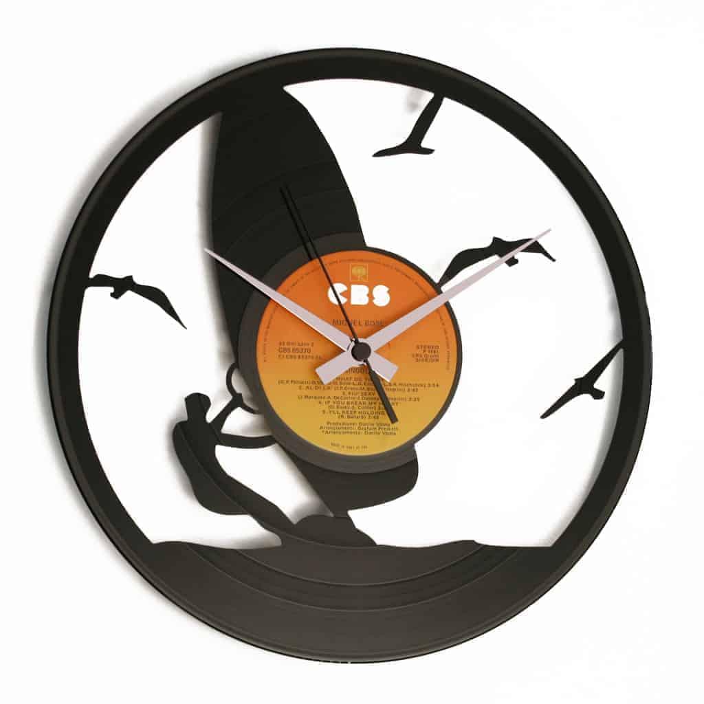 ABBIAMO UN PIANO orologio con disco in vinile
