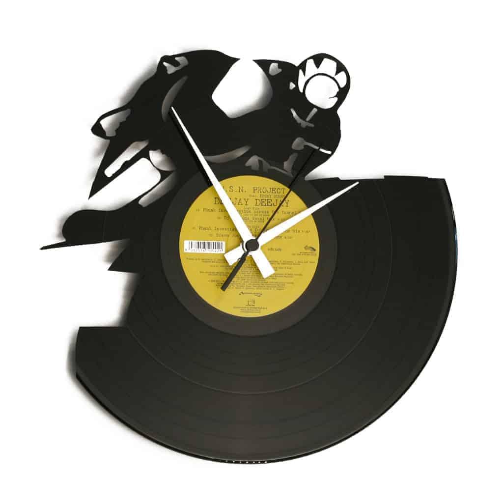 FULL THROTTLE orologio con disco in vinile