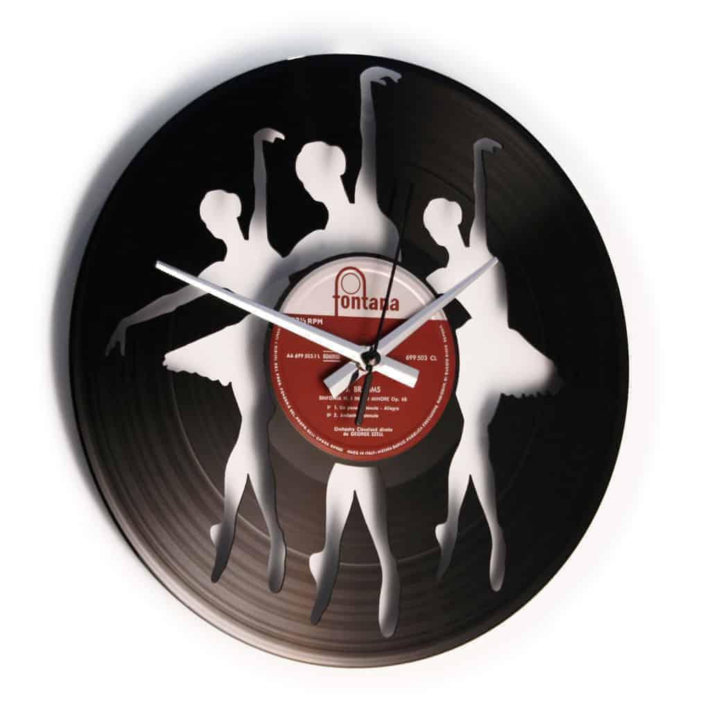 BALLERINAS orologio con disco in vinile