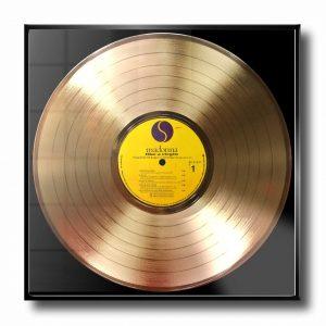 Madonna Like a virgin Golden Record