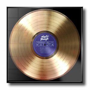 DAFT PUNK GOLD RECORD