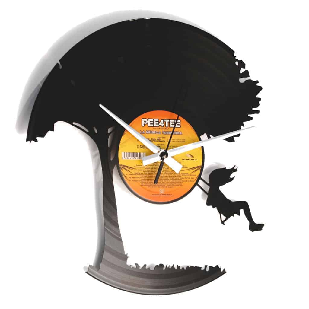 I DON'T WANNA GROW UP orologio con disco in vinile