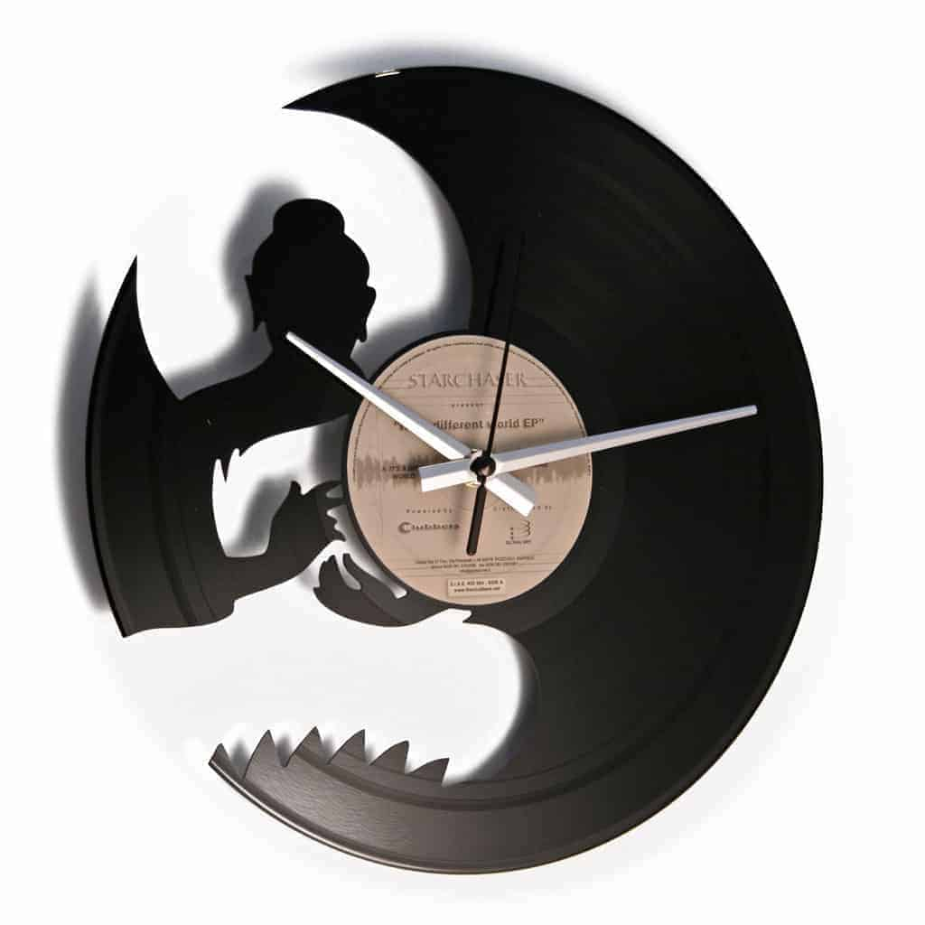 OM Orologio con disco in vinile