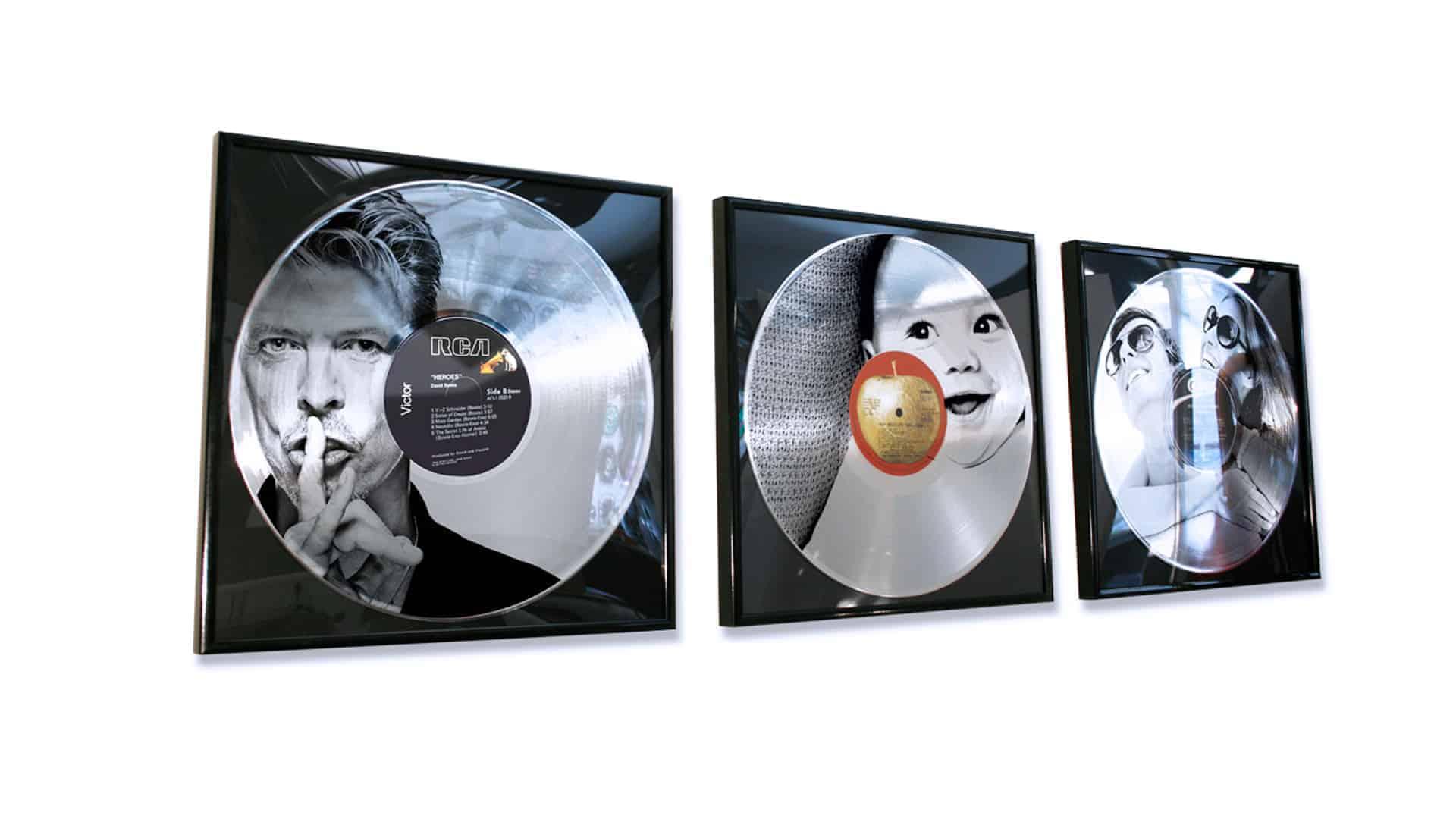 dischi platino personalizzati
