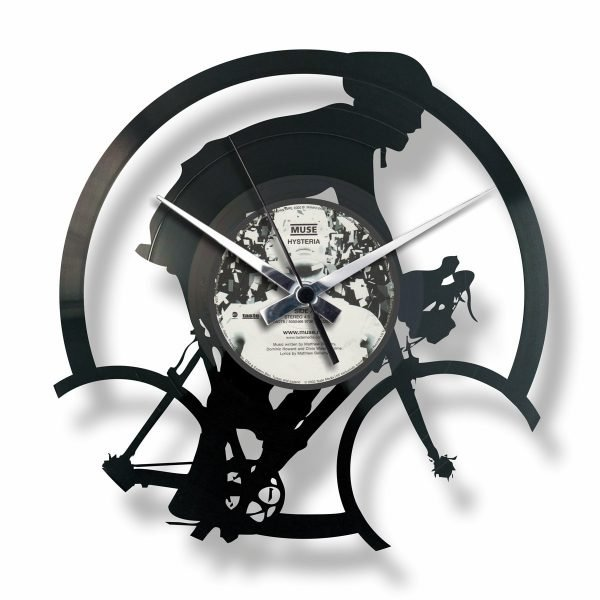 BICYCLE RACE orologio con disco in vinile
