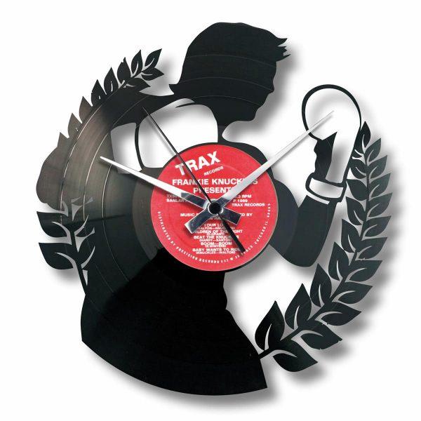 THE BOXER orologio con disco in vinile