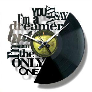 record clock imagine lennon