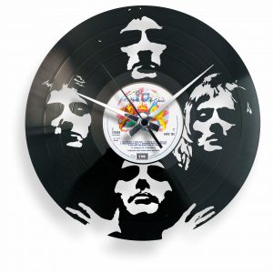 queen vinyl record clock