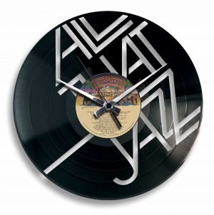 jazz record clock