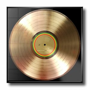 BOB MARLEY GOLD RECORD