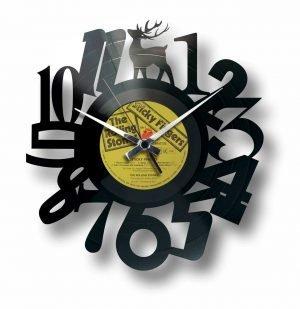 designer vinyl record clock