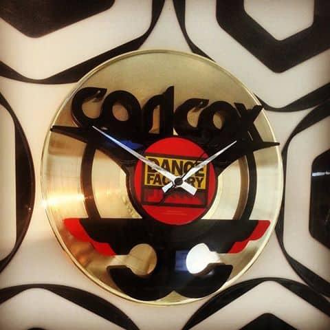 orologio vinile oro carl cox