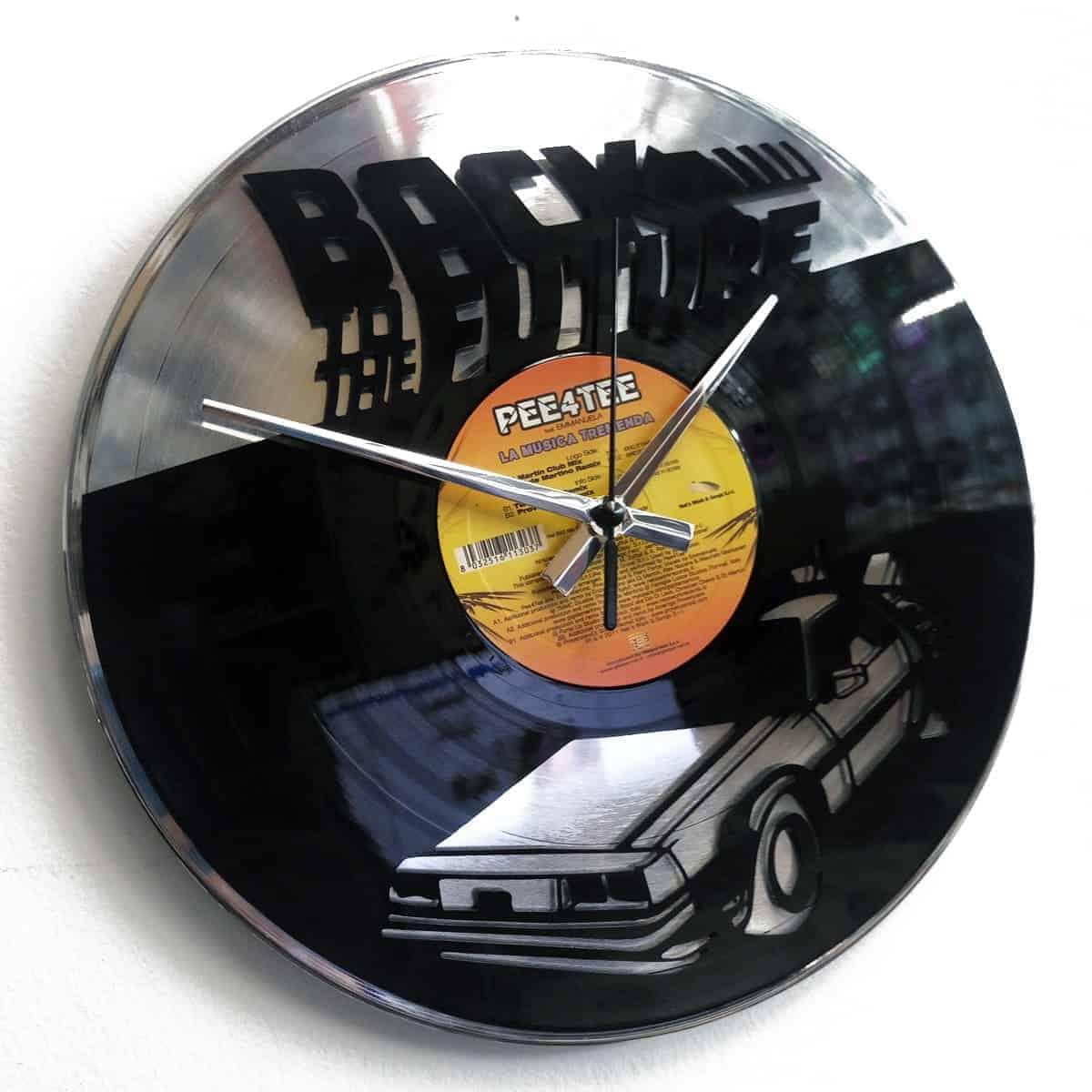 orologio vinile ritorno al futuro