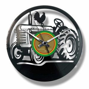tractor record clock