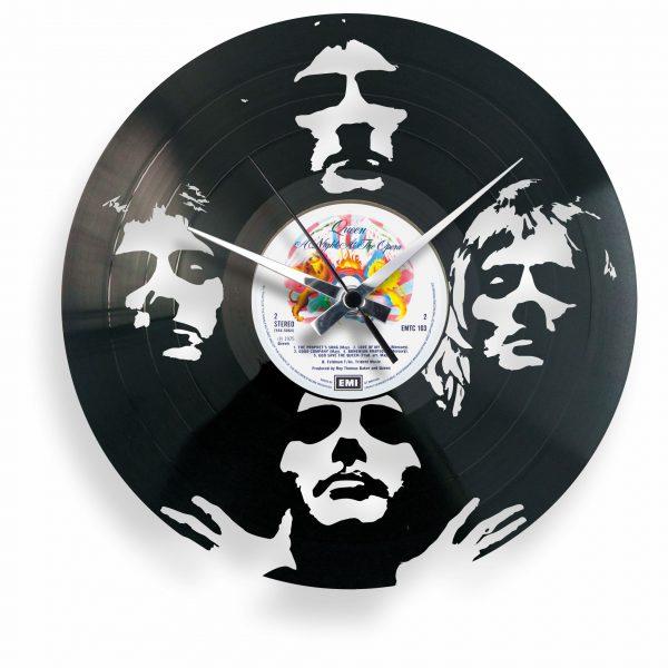 queen vinyl record clock