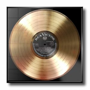 ELVIS PRIESLEY GOLD RECORD
