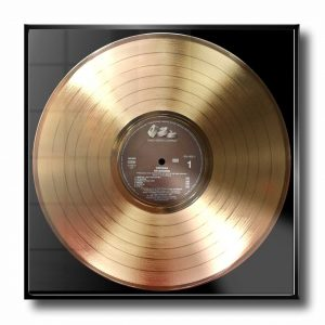 NIRVANA GOLD RECORD