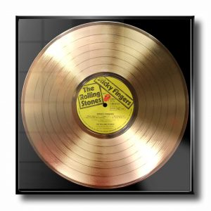 rolling stones gold record